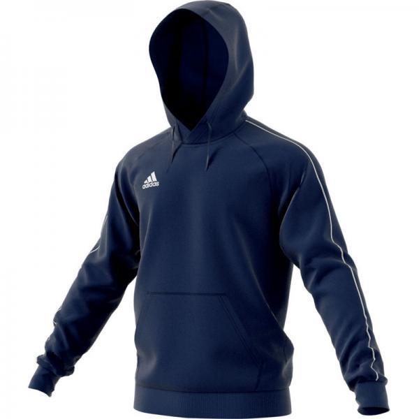 adidas Hoodie CORE 18 dark blue/white | 116
