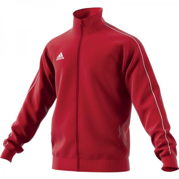 adidas Polyesterjacke CORE 18 power red/white   116