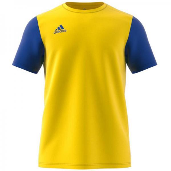adidas Trikot ESTRO 19 yellow/bold blue   116   Kurzarm