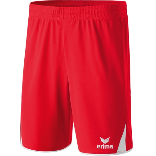 erima Short 5-CUBES rot/weiß | 128