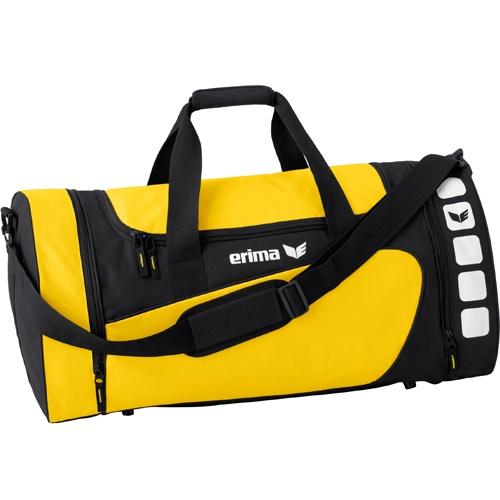 erima Sporttasche 5-CUBES (mit Nassfach) gelb/schwarz | S