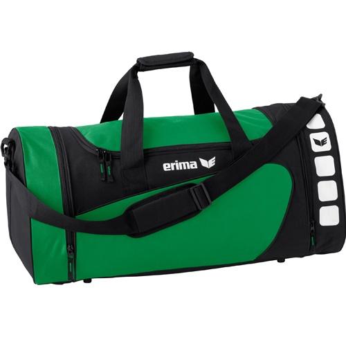 erima Sporttasche 5-CUBES (mit Nassfach) smaragd/schwarz | S