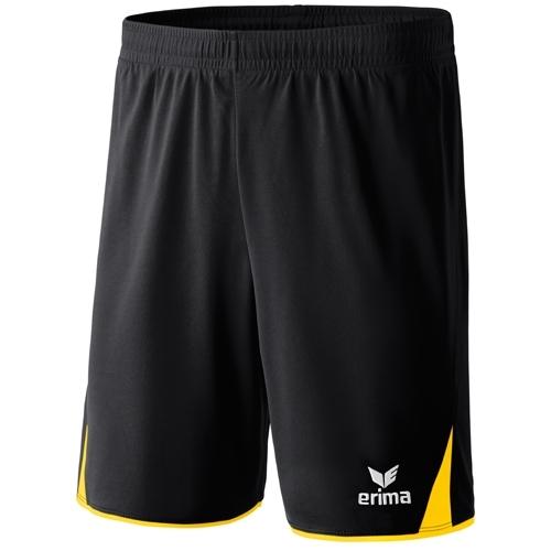 erima Short 5-CUBES schwarz/gelb   128
