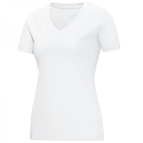 Jako Damen-T-Shirt TEAM V-NECK