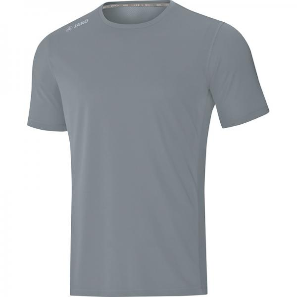 Jako Laufshirt (kurz) T-Shirt RUN 2.0 steingrau | 128
