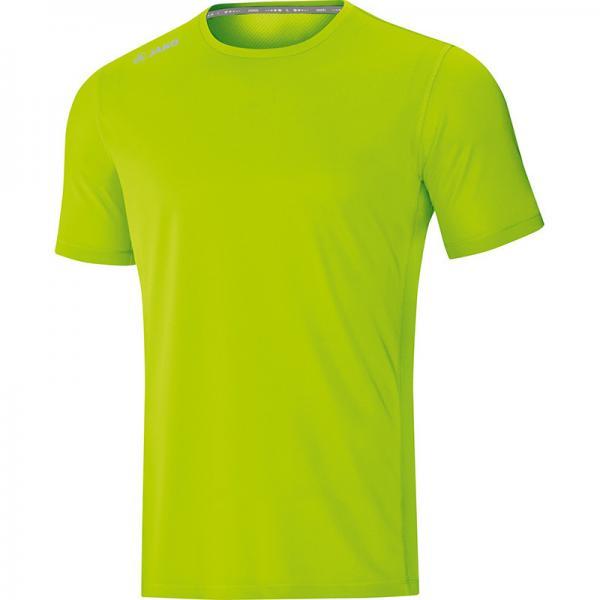 Jako Laufshirt (kurz) T-Shirt RUN 2.0 neongrün   140