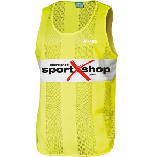 Jako Markierungsleibchen (10 Stück) mit sportXshop-Logo