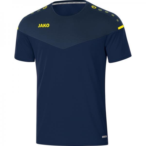 Jako T-Shirt Champ 2.0 marine/darkblue/neongelb | 116
