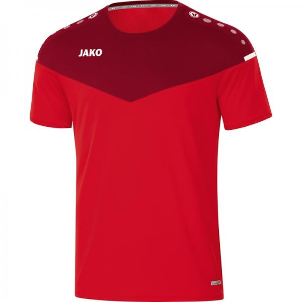 Jako T-Shirt Champ 2.0 rot/weinrot   116