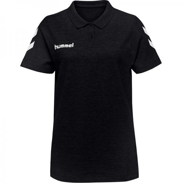 hummel Damen-Poloshirt GO COTTON