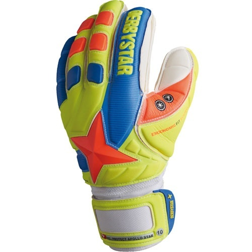 Derbystar Torwarthandschuhe APS PROTECT APOLLO STAR (Finger-Protection-System)