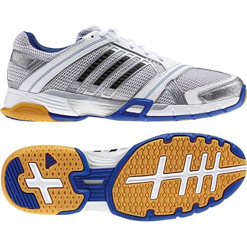 adidas Herren Volleyballschuh OPTICOURT Light (running whiteblacktrue blue)