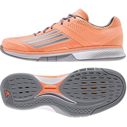 pretty nice ceeca 5b600 adidas Damen-Handballschuh ADIZERO COUNTERBLAST 7 W flash orangewhitegrey   48