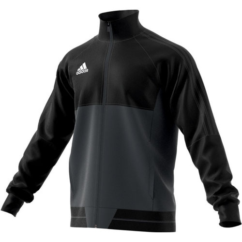 adidas Polyesterjacke TIRO 17 black dark grey white   128 96458d7fe1