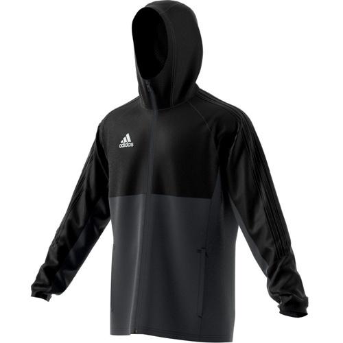 adidas Regenjacke TIRO 17 black dark grey white   S 0f6d77ba9c