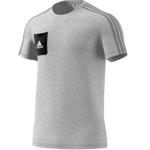 adidas T-Shirt TIRO 17 medium grey heather black white   XS 79de54519d
