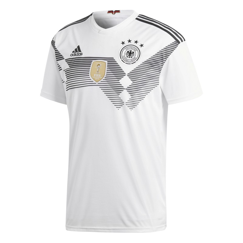 adidas Trikot Deutschland - das Heimtrikot der Fans zur WM 2018 white black    140 3492700bea