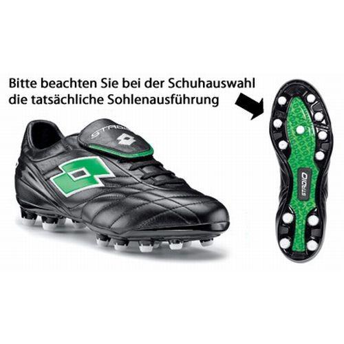 Lotto Fußballschuh STADIO FUORICLASSE FG (blackneon green )