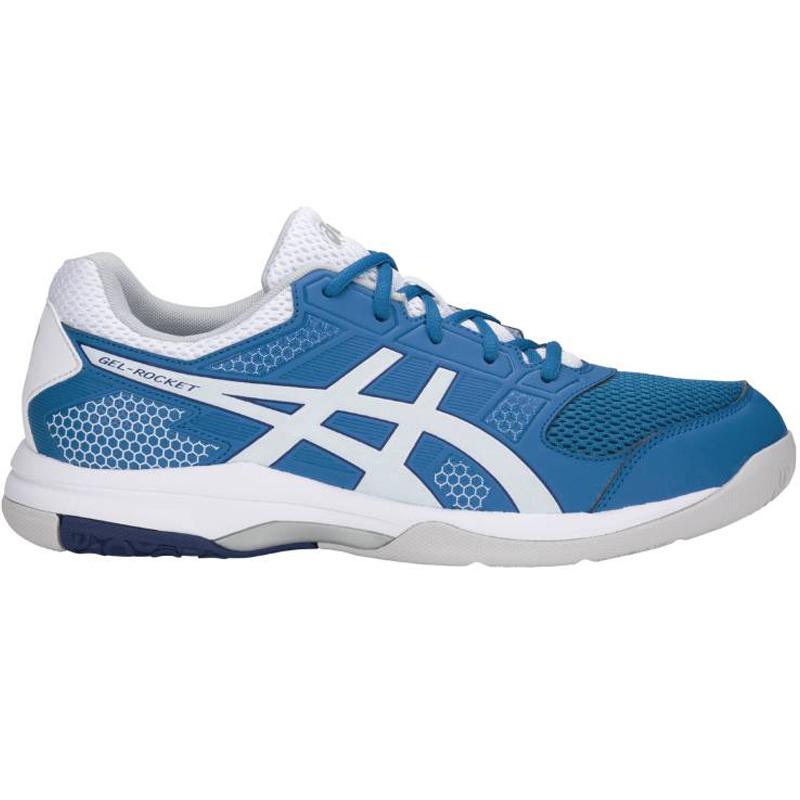 f2a79ac2c3c1 asics Herren-Volleyballschuh GEL-ROCKET 8 race blue white