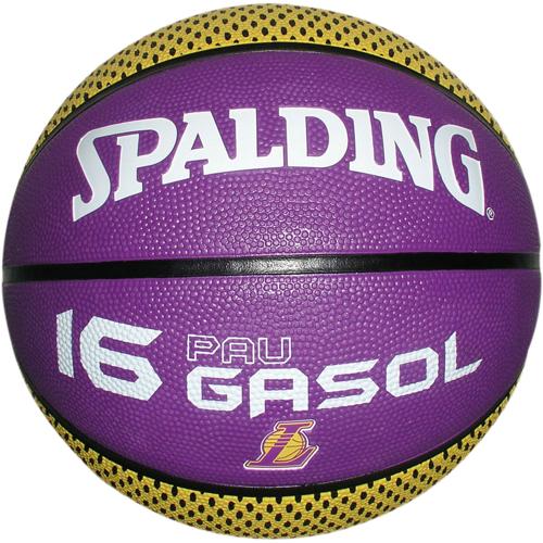 lowest price ad6cd 8632b spalding Basketball NBA PLAYER-BALLS PAU GASOL (Outdoor)