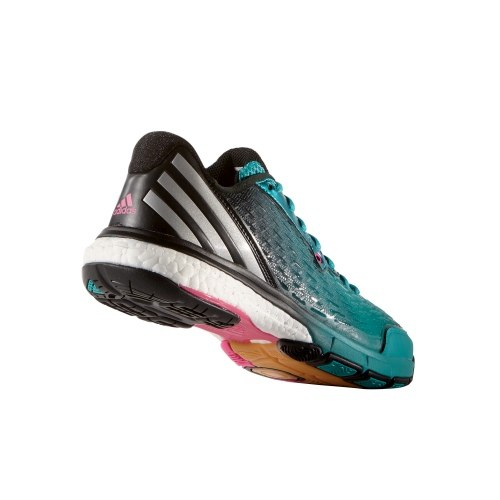 adidas energy volley boost 2.0 w grün damen handballschuh