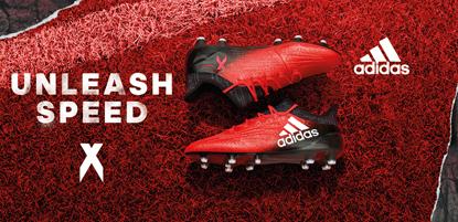 adidas Fußballschuhe X in rot