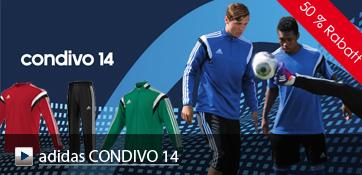 Die neue adidas Linie CONDIVO 14 ist ab sofort erhältlich