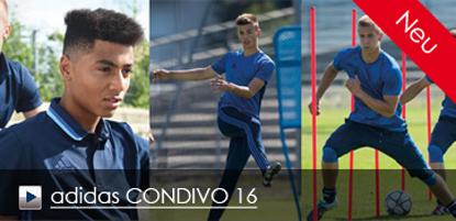 Die neue adidas Linie CONDIVO 16 ist ab sofort erhältlich