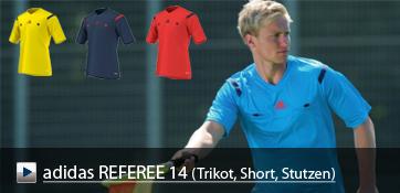 adidas REFEREE 14 Schiedsrichterbekleidung zur Bundesliga 2014