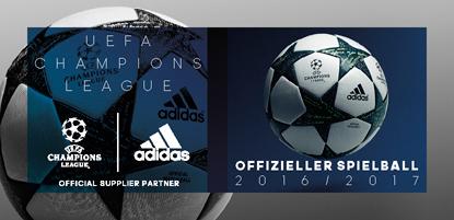 adidas Fussball Champions League 2016