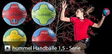 hummel Handbälle 1,5-Serie Concept, Elite, Premier und Arena