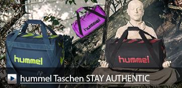 hummel Sporttaschen STAY AUTHENTIC mit oder ohne Bodenfach