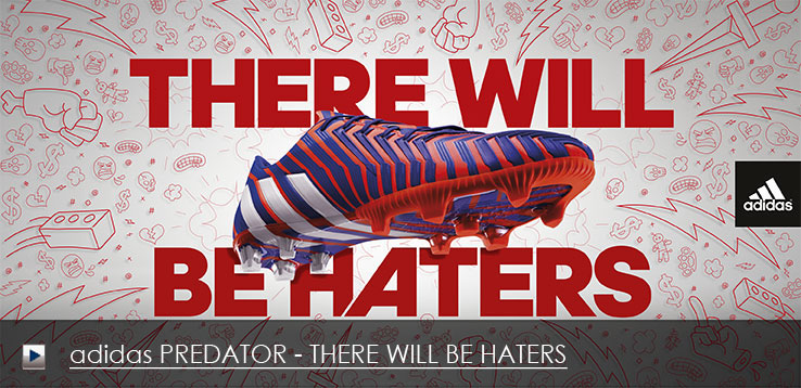 adidas Fußballschuh PREDATOR - THERE WILL BE HATERS
