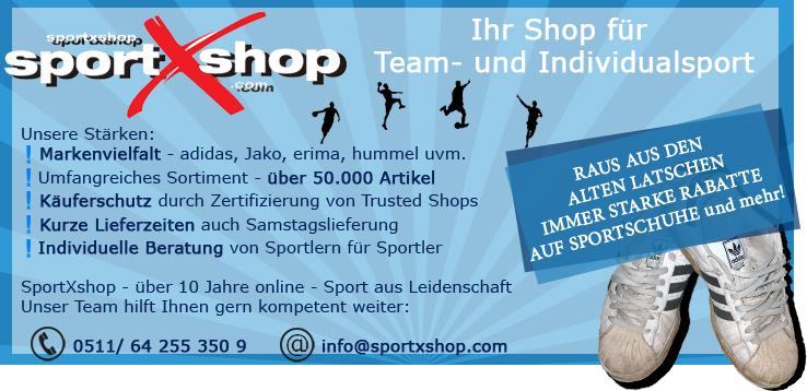 SportXshop - Ihr Shop für Team- und Individualsport