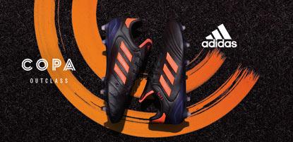 adidas Fußballschuh Copa in orange