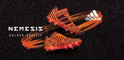 adidas Fussballschuhe nemeziz in orange