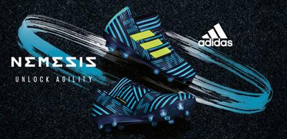 adidas Fussballschuhe nemeziz in blau