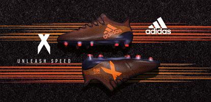 adidas Fußballschuhe X in orange
