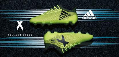 adidas Fußballschuhe X in grün