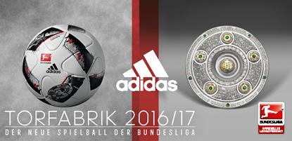 adidas Fussball TORFABRIK 2016-17