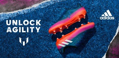 adidas Fussballschuhe Messi in blau