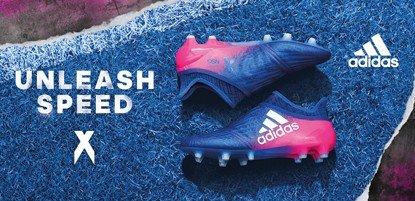 adidas Fußballschuhe X in blau