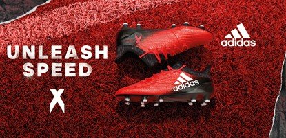adidas Fußballschuhe X rot