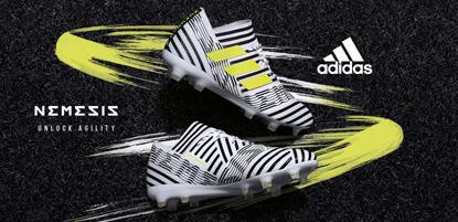 adidas Fussballschuhe nemeziz in weiß