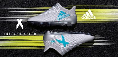 adidas Fußballschuhe X in weiß