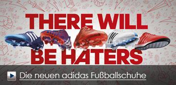 Die neuen adidas Fussballschuhe - THERE WILL BE HATERS