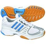 adidas Volleyballschuh VUELO 2 W (runnning white/columbia blue/metallic silver)
