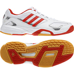 adidas Damen-Handballschuh OPTICOURT LIGRA W (running white/core energy)