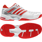 adidas Damen-Handballschuh OPTICOURT RESPONSE W (running white/silver/core red)