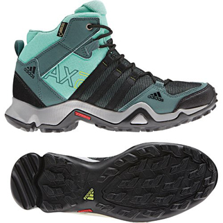 adidas Damen-Walkingschuh AX2MID GTX  W - vista green/wonder mint/black|40